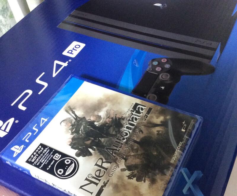 PS4とニーアオートマタ