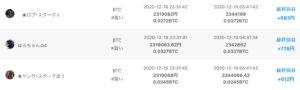 ビットコイン自動売買「QUOREA(クオレア)」の売買履歴