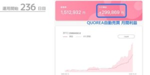 ビットコイン自動売買「QUOREA(クオレア)」2020年12月の運用実績