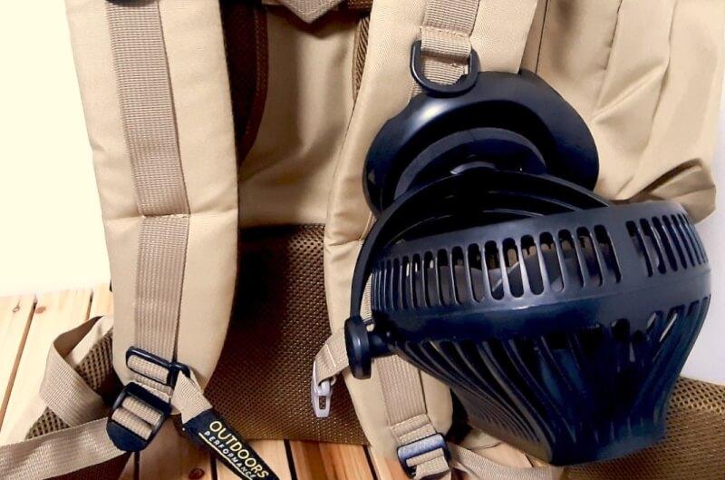USB充電式 卓上扇風機