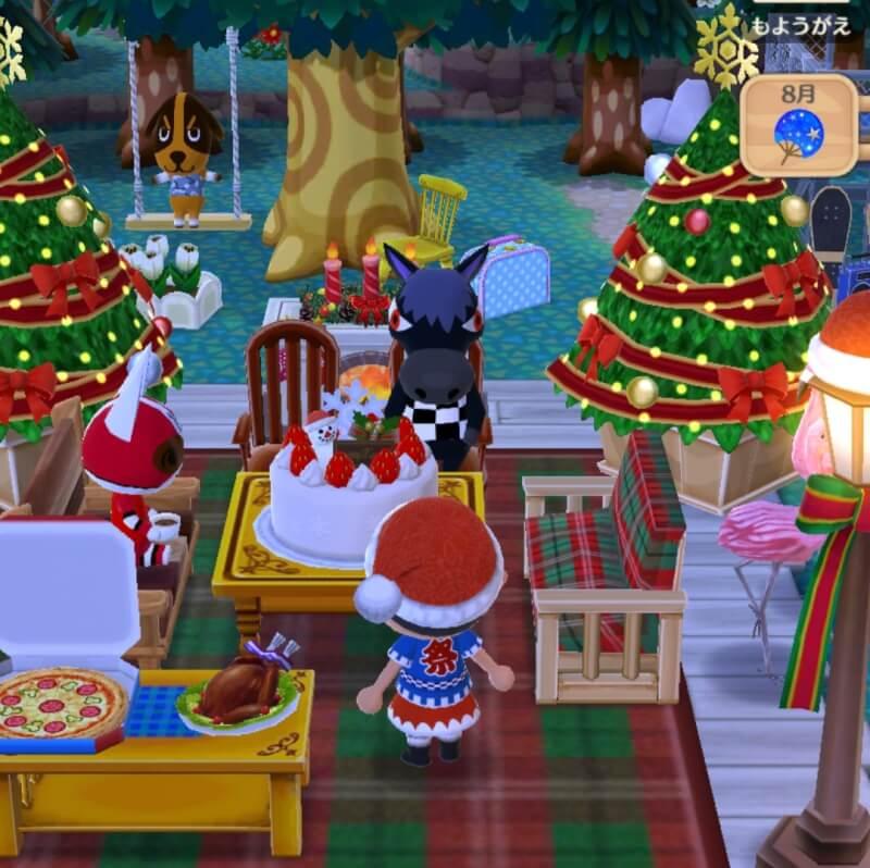 8月でもクリスマスムード全開の「さん太キャンプ場」