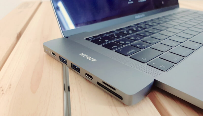 Anker PowerExpand Direct 7-in-2 USB-C PD メディア ハブ