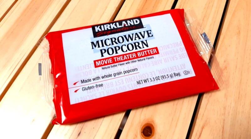 コストコのブランド「カークランド」のポップコーン