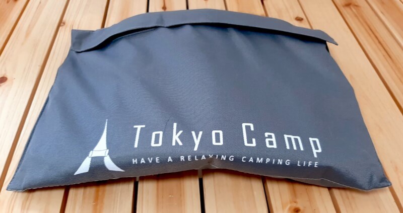 「TokyoCamp」のソロ焚き火台