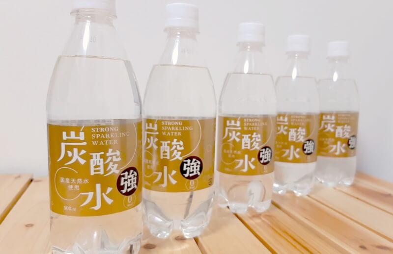 強炭酸水500mLペットボトル