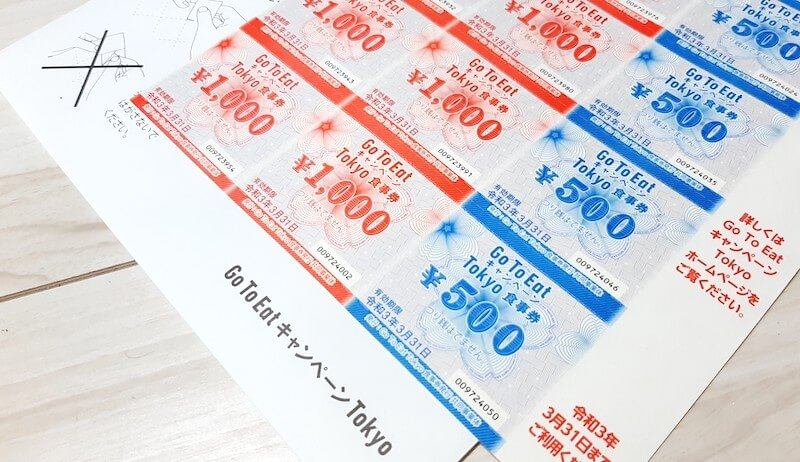 Gotoeat食事券Tokyo